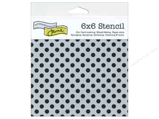 Sponges $4 - $6: The Crafter's Workshop Template 6 x 6 in. Swiss Dot