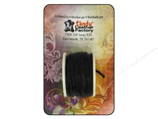 Threads Black: Leather Factory Tool Sewing Awl Thread Black 12.5yd
