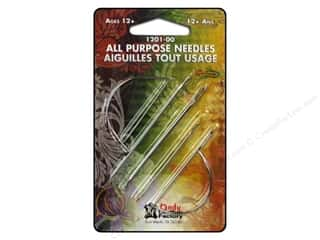 Needles / Hand Needles Leatherwork: Leather Factory Tool All Purpose Needle 7pc