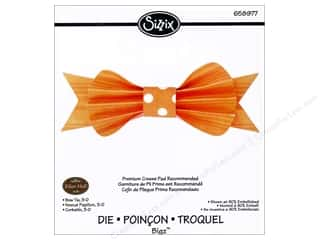 Sizzix 1 3/4 in: Sizzix Bigz Die Bow Tie 3D by Eileen Hull