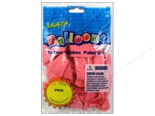 "PNL Balloons Funsational Deco 12"" 12pc Pink"