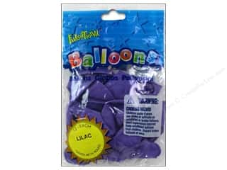 "Party Favors: Pioneer National Latex Balloons Funsational Deco 12"" 12pc Lilac"
