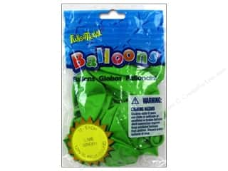 "Party Favors: Pioneer National Latex Balloons Funsational Deco 12"" 12pc Lime Green"