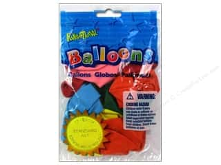 "PNL Balloons Funsational Deco 12"" 12pc Astd"