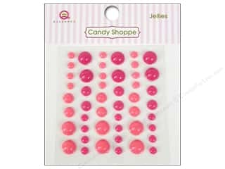 Dimensions $6 - $8: Queen&Co Sticker Candy Shoppe Jellies Pink