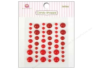 Jelly Belly Candy $2 - $4: Queen&Co Sticker Candy Shoppe Jellies Red