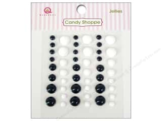 Queen & Company mm: Queen&Co Sticker Candy Shoppe Jellies Black & White