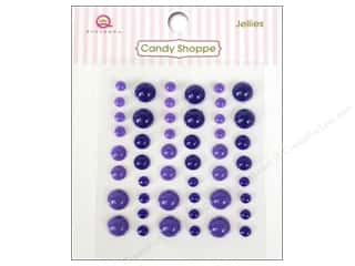 Dimensions $6 - $8: Queen&Co Sticker Candy Shoppe Jellies Purple