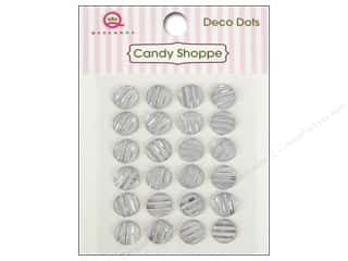 Rhinestones paper dimensions: Queen&Co Sticker Candy Shoppe Deco Dots Clear