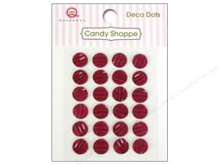 Queen&Co Sticker Candy Deco Dots Red