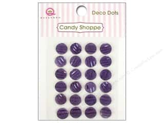 Queen&Co Sticker Candy Deco Dots Purple