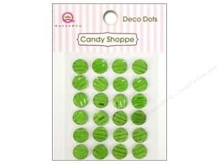 Queen&Co Sticker Candy Deco Dots Green