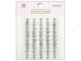 Rhinestones paper dimensions: Queen&Co Sticker Candy Shoppe Bubbles Clear
