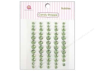Rhinestones paper dimensions: Queen&Co Sticker Candy Shoppe Bubbles Green