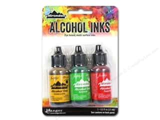 Inks: Ranger Adirondack Alcohol Ink Set Conservatory