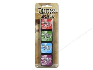 Stamping Ink Pads Rubber Stamping: Ranger Tim Holtz Distress Ink Pad Mini Kit #2