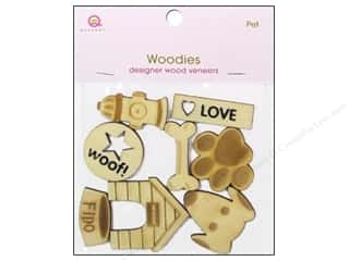 Pets Papers: Queen&Co Embellishments Pet Woodies