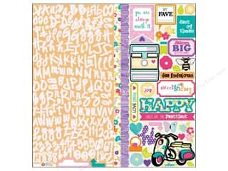 Sisters paper dimensions: Queen&Co Sticker Girl Darling Diva