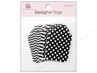 Queen & Company: Queen&Co Designer Tags Black