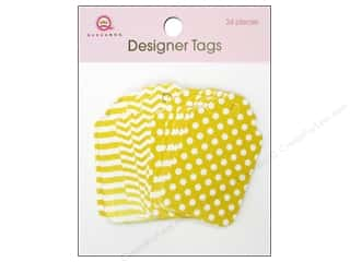 Queen & Company: Queen&Co Designer Tags Yellow