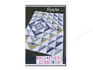 Finishes Sewing & Quilting: Sew Many Creations Ripple Quilt Pattern