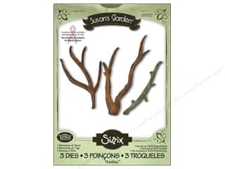 Non-Profits $5 - $8: Sizzix Thinlits Die Set 3pk Branches & Stem by Susan Tierney