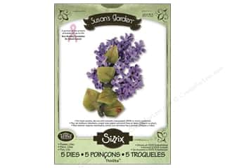 Sizzix Thinlits Die Set 5PK Flower Lilac