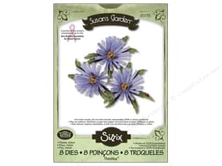 Non-Profits Clearance Crafts: Sizzix Thinlits Die Set 8PK Flower Aster by Susan Tierney
