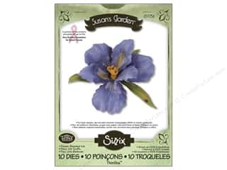 Sizzix Thinlits Die Set 10PK Flower Bearded Iris