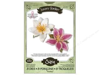 Non-Profits $1 - $3: Sizzix Thinlits Die Set 8PK Flower Clematis by Susan Tierney