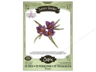 Non-Profits $1 - $3: Sizzix Thinlits Die Set 13PK Flower Crocus by Susan Tierney