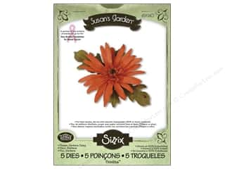 Sizzix Thinlits die Set 5PK Flower Gerbera Daisy