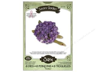 Non-Profits Clearance Crafts: Sizzix Thinlits Die Set 6PK Flower Globe Allium by Susan Tierney