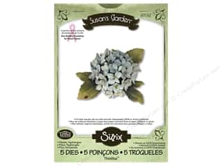 Non-Profits $5 - $8: Sizzix Thinlits Die Set 5PK Flower Hydrangea by Susan Tierney