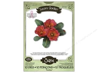 Non-Profits $1 - $3: Sizzix Thinlits Die Set 10PK Flower Primrose by Susan Tierney