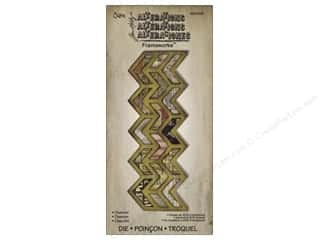 Tim Holtz inches: Sizzix Frameworks Die Chevron by Tim Holtz