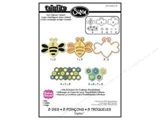 Sizzix Die Triplits Bee by Stephanie Barnard