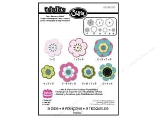 Metal $6 - $9: Sizzix Dies Triplets Flower #2 by Stephanie Barnard