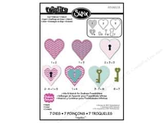 Sizzix Die Triplits Heart by Stephanie Barnard