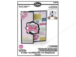 Sizzix Framelits Die Set 11PK Card Royal Flip Its