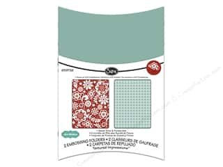 Sizzix Emboss Folder Whitlock TI Sweet Dot&Florals