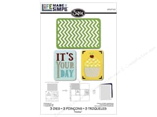 Birthdays $2 - $4: Sizzix Thinlits Die Set 3PK Birthday #2 by Rachel Bright