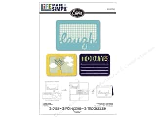 Sizzix Hot: Sizzix Thinlits Die Set 3PK Laugh Today by Rachael Bright