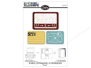 Sizzix Metal Stencils: Sizzix Thinlits Die Set 3PK Smile For The Camera by Rachael Bright