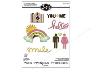 Sizzix Die KIMemories Thinlets You & Me