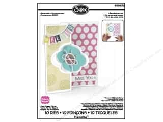 Cards 10 in: Sizzix Framelits Die Set 10PK Card Elegant Flip-its by Stephanie Barnard