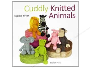 Doll Making Yarn & Needlework: Search Press Cuddly Knitted Animals Book