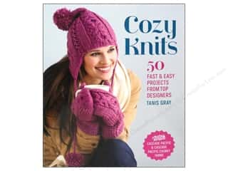 Interweave Press Crochet & Knit: Interweave Press Cozy Knits 50 Fast & Easy Projects Book