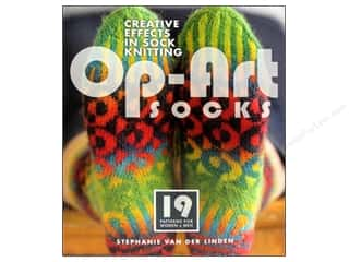 Interweave Press Crochet & Knit: Interweave Press Op Art Socks Book