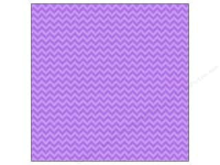 "Doodlebug Paper 12""x 12"" Sugar Coated Chevron Lilac (25 piece)"